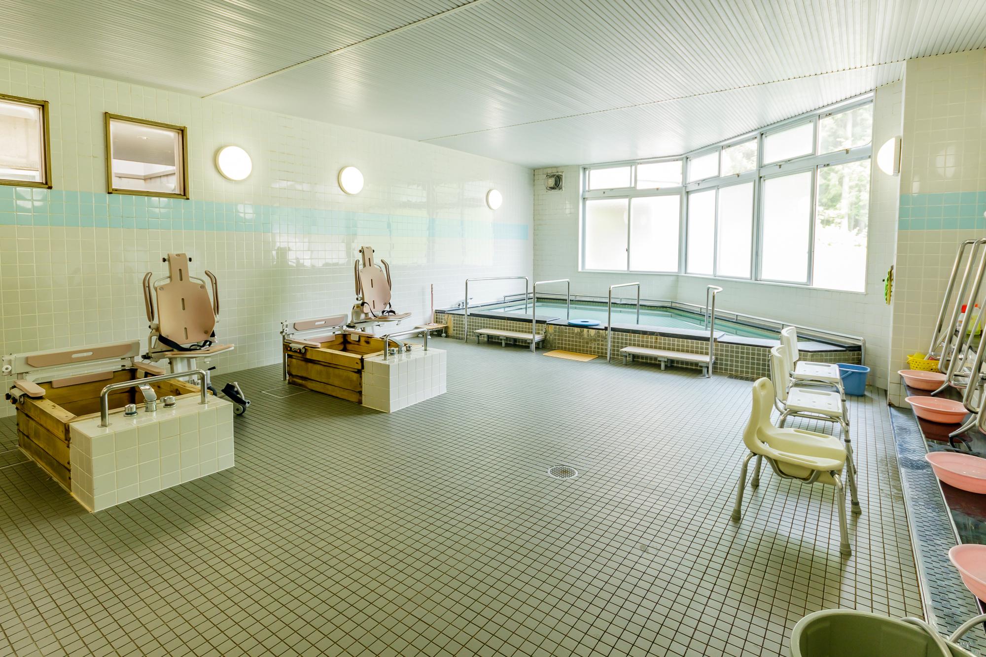 特別養護老人ホームぶなの園 個浴・大浴槽