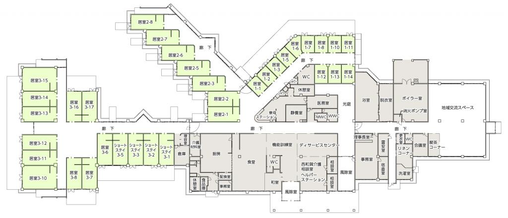 ぶなの園MAP